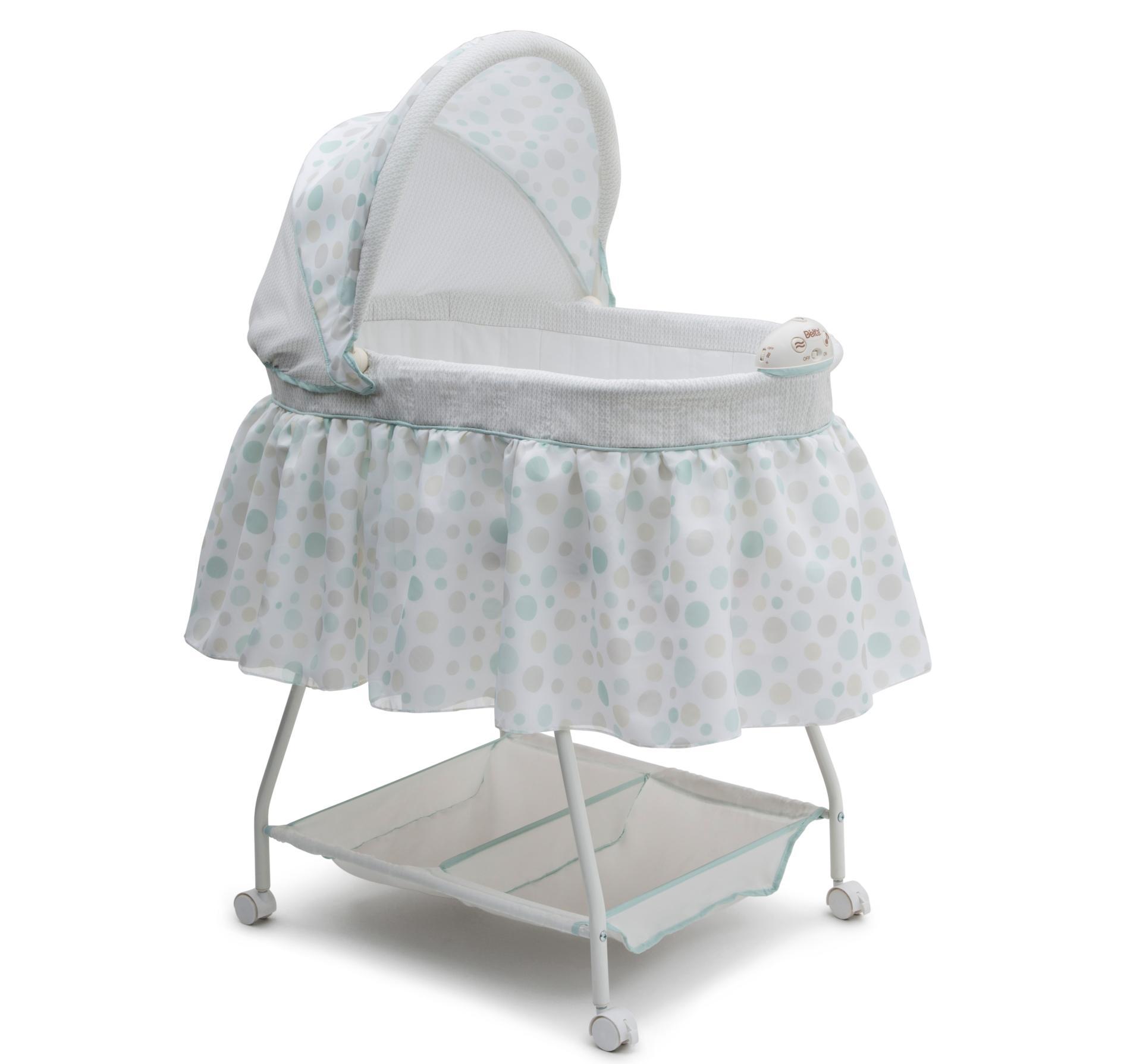 baby bassinet delta children infantu0027s sweet beginnings bassinet - dots DBMPVNZ