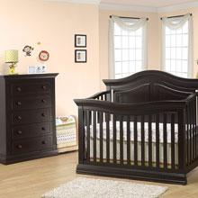 baby furniture sets espresso nursery sets HCRBBVW