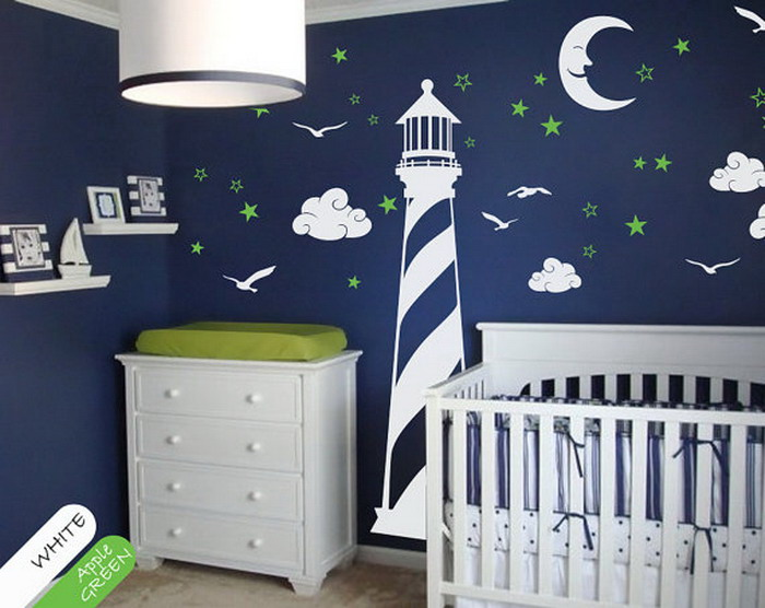 baby room decoration baby room decor with tropical wall mural XSPBBFE
