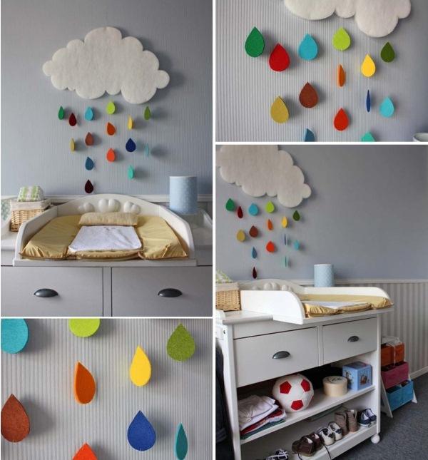 baby room decoration gorgeous rain cloud mobile baby room decor YAILRHK