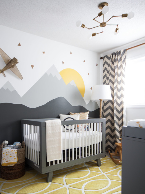 baby room | houzz WBDPWCB