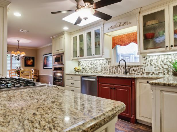 backsplash ideas for granite countertops GRQKLUH
