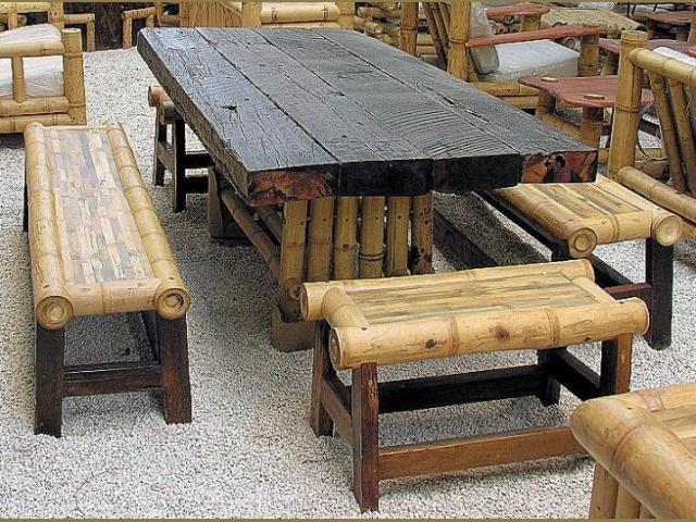bamboo furniture ZDZEIMY