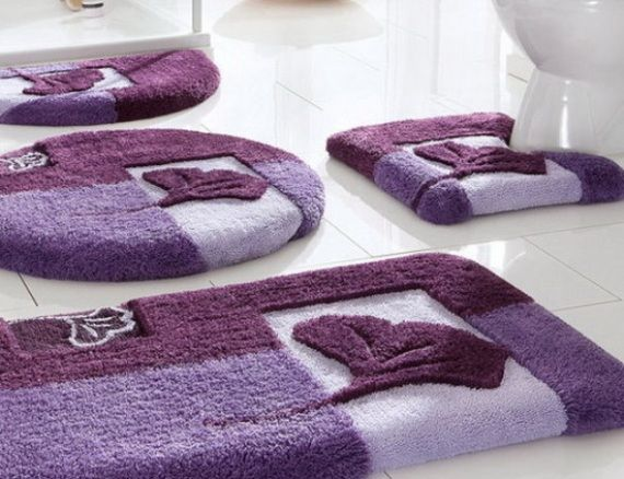 bathroom , 12 pretty designer bathroom rugs and mats : bathroom rug sets VTLIHCF