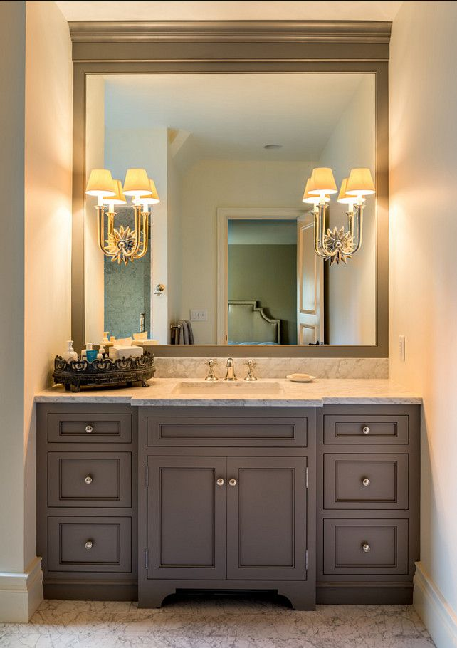 bathroom cabinets bathroom vanity. timeless bathroom vanity design. #bathroom #vanity  #interiors MDAGHKH