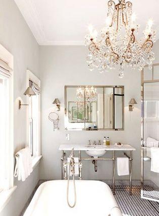 bathroom chandeliers best 25+ bathroom chandelier ideas on pinterest LRROURC