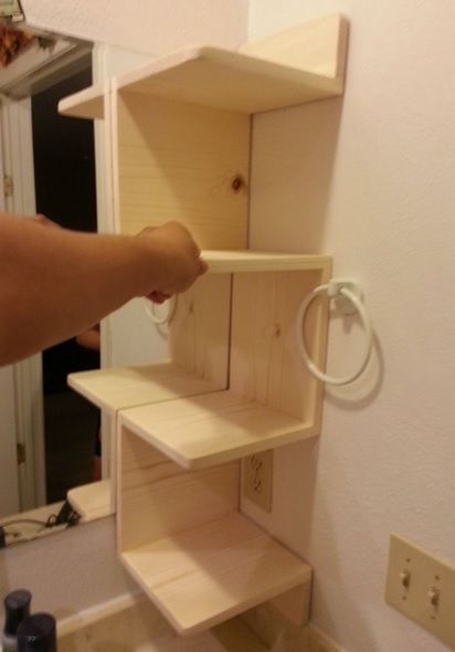 bathroom corner shelves 5 step guide to building your own diy corner shelving ASWLOBO