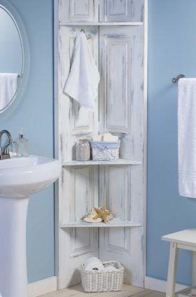 bathroom corner shelves diy branch shelf. bathroom corner ... RQNRDWX