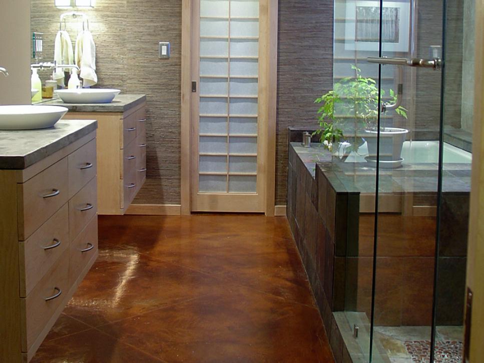 bathroom flooring ideas bathroom flooring options | hgtv OWCVFVB