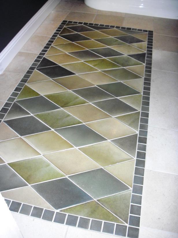 bathroom flooring ideas beautiful bathroom floors from diy network | diy QHOAFCD