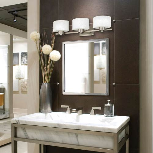 bathroom light fixtures from blah to spa: how bathroom lighting can turn your space into an TNIGRRD