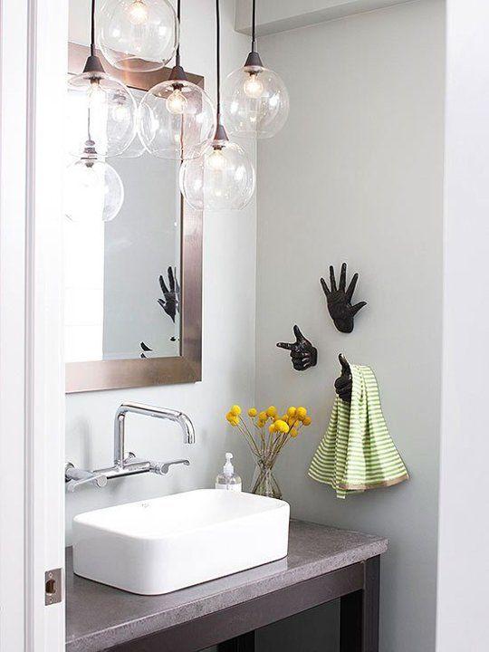 Smart bathroom lighting ideas