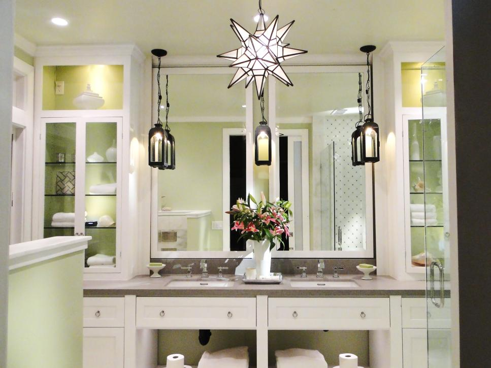 bathroom lighting ideas featured in bath crashers  ZTNDIWJ