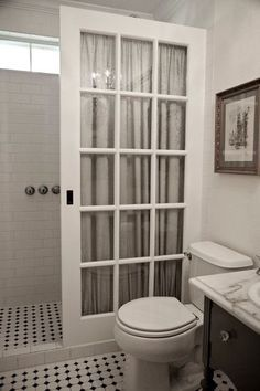 bathroom makeovers 7 ways to upscale upcycled french doors GXEARGN