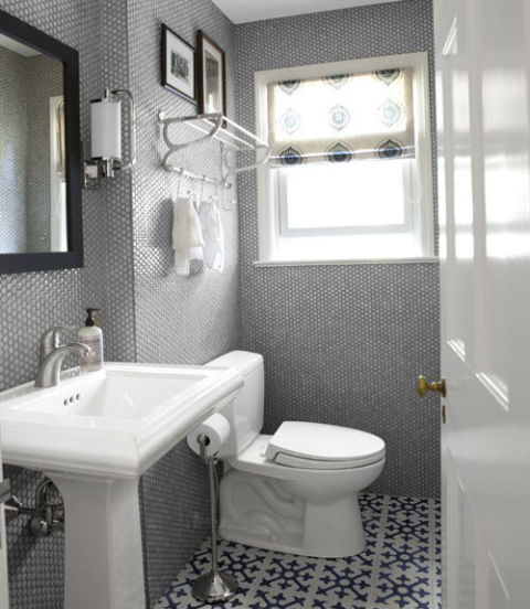 bathroom makeovers gray bathroom YDOYLEB