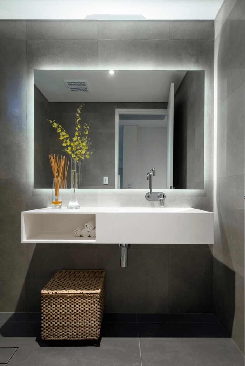 bathroom mirror ideas collect this idea illuminated-large-mirror QUJHLIW
