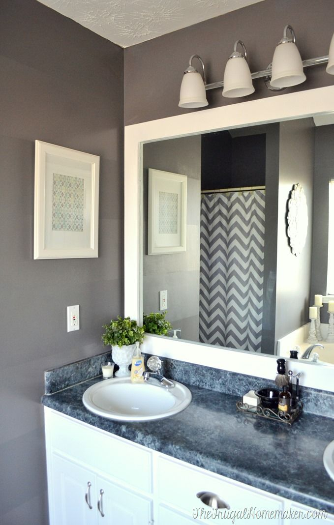 How to select a bathroom mirror – ideas
