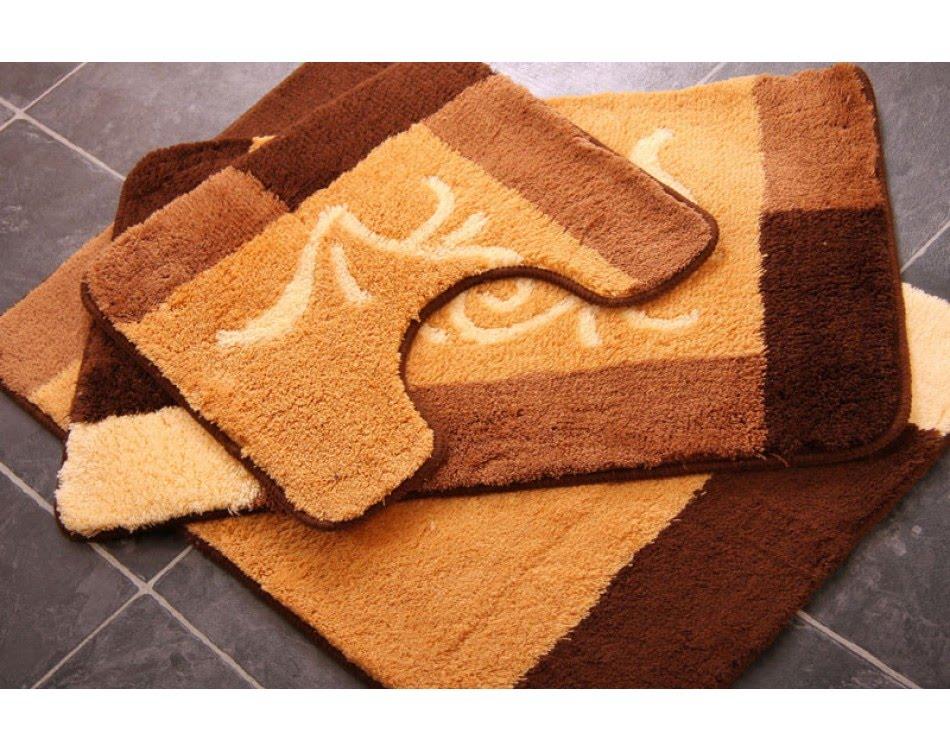 bathroom rug sets | bathroom rug sets with elongated lid cover - youtube NHUCNBH