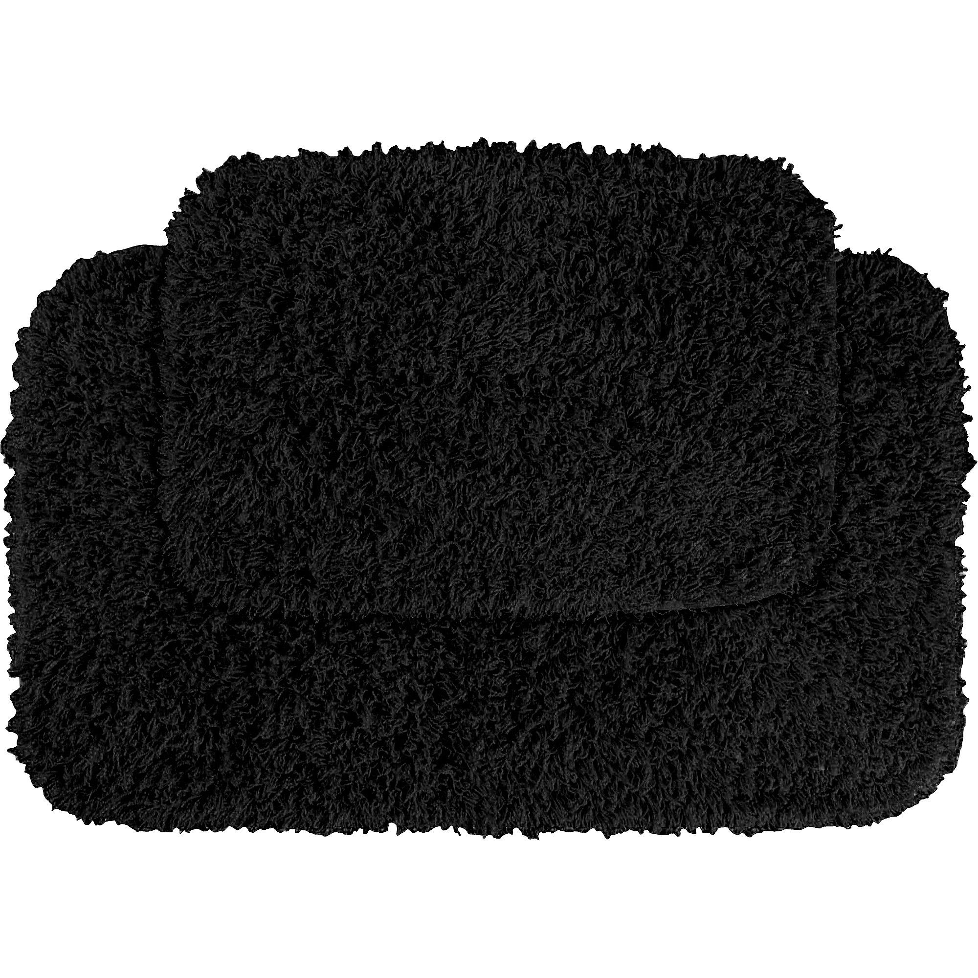 bathroom rug sets garland fiesta 2pc shag bath rug set - walmart.com UHLPCQD
