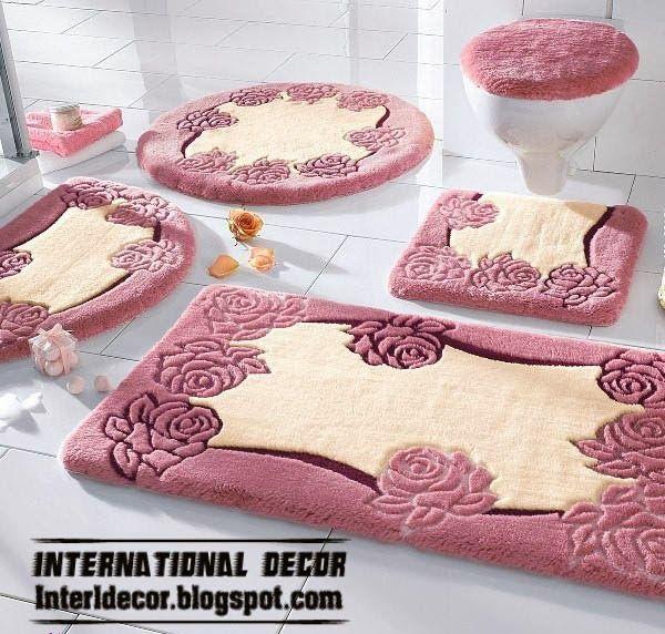bathroom rug sets latest models of bathroom rugs and rug sets | international decoration JYSDEUH