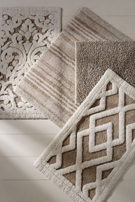 bathroom rugs fall in love with linen. all-natural fibers are delectable underfoot. ZRRZNMF