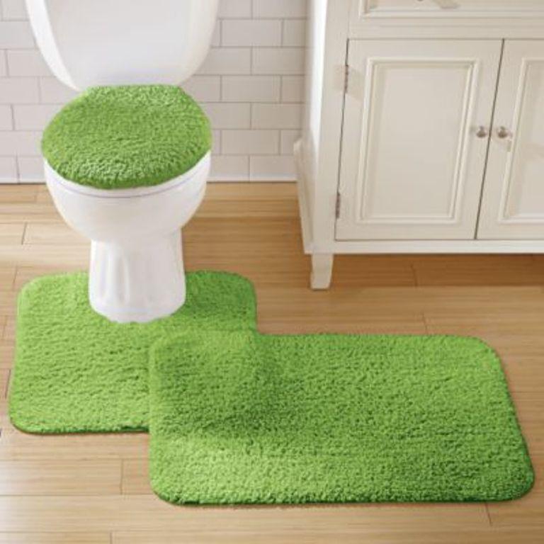 bathroom rugs green shag bathroom rug EXBFBTX