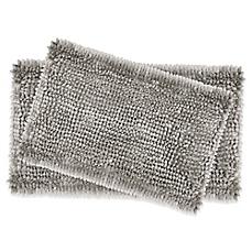 bathroom rugs image of laura ashley® butter chenille bath rugs (set of 2) BONICDJ