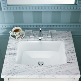 bathroom sinks undermount sinks RUCRJVM
