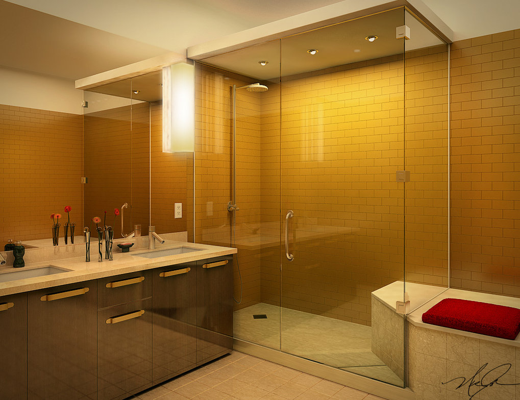 bathroom styles the common architectural features for these bathrooms are floors made from  hardwoods, XVXSMJS