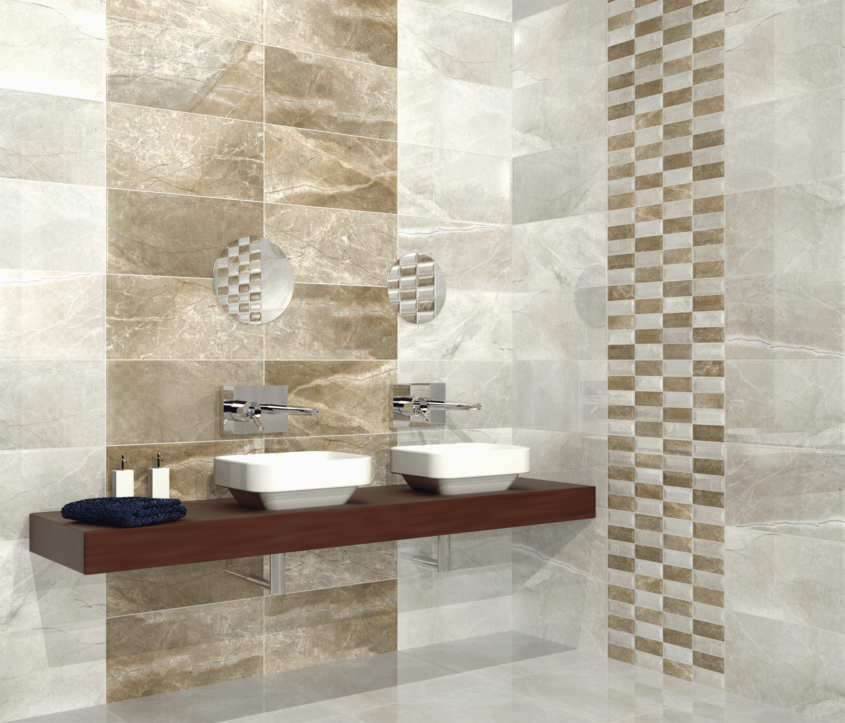 3 handy tips for choosing bathroom tiles