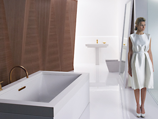 bathroom trends the allure of the minimalist bath OMLEWPO
