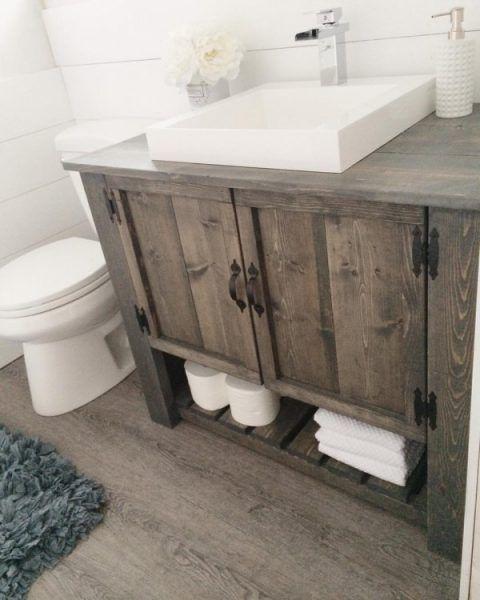 bathroom vanity ideas 20 gorgeous diy rustic bathroom decor ideas you should try at home TFFMAWO