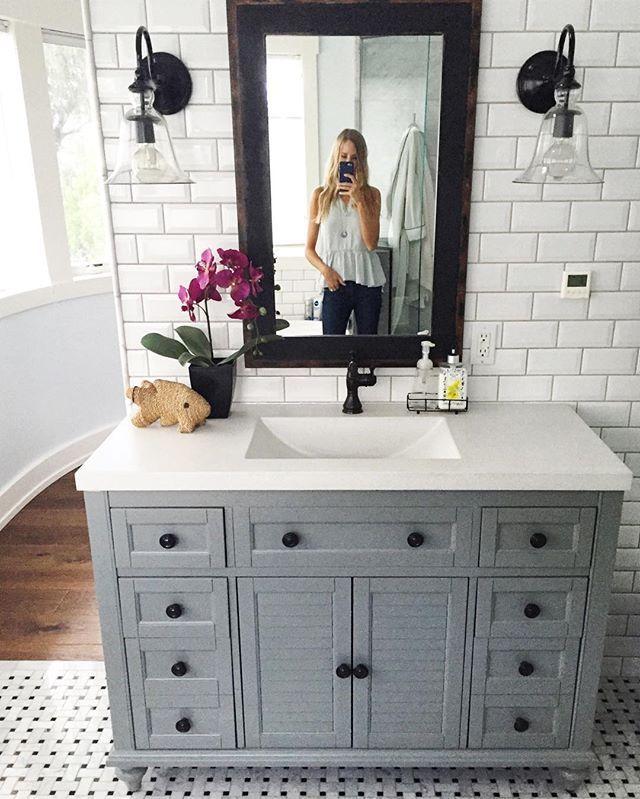bathroom vanity ideas master bathroom reveal - parentu0027s edition NFIVSPT