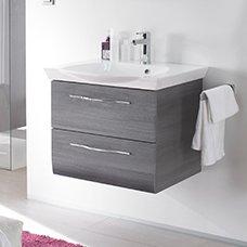 bathroom vanity units small vanity units · wall hung bathroom wash basin and cabinets white black NBZTGLF