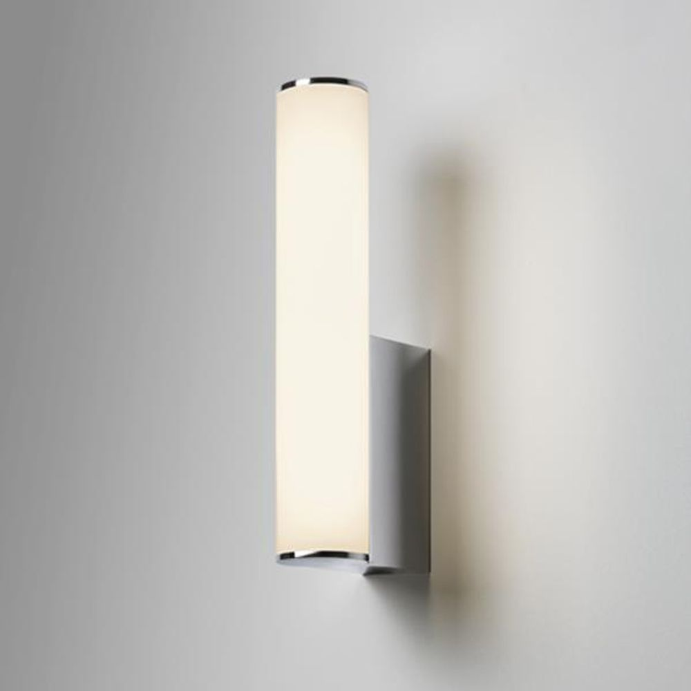bathroom wall lights astro astro domino led ip44 bathroom wall light in polished chrome KTLQGBN