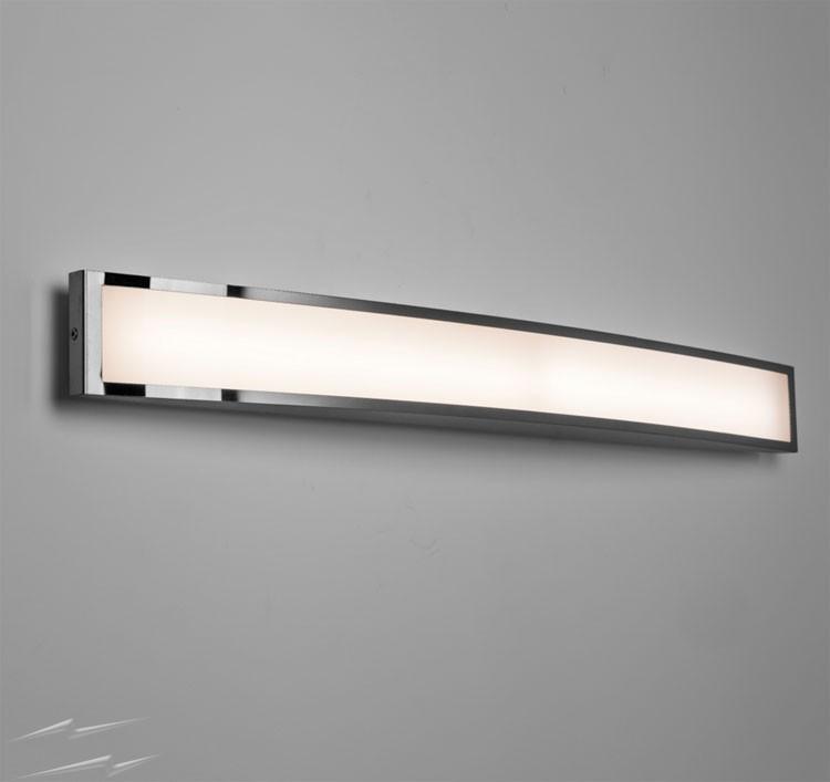 bathroom wall lights chord 7.2w 3000k led bathroom wall light in polished chrome, ip44 astro RNJYCLW