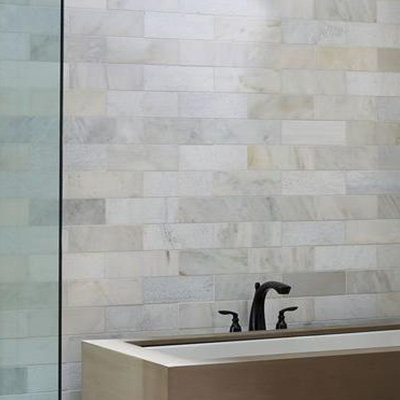 bathroom wall tiles large wall tile gives the illusion that rooms are larger than they actually UYDJLSO