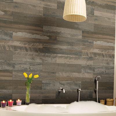 bathroom wall tiles wood look AZRQFXN