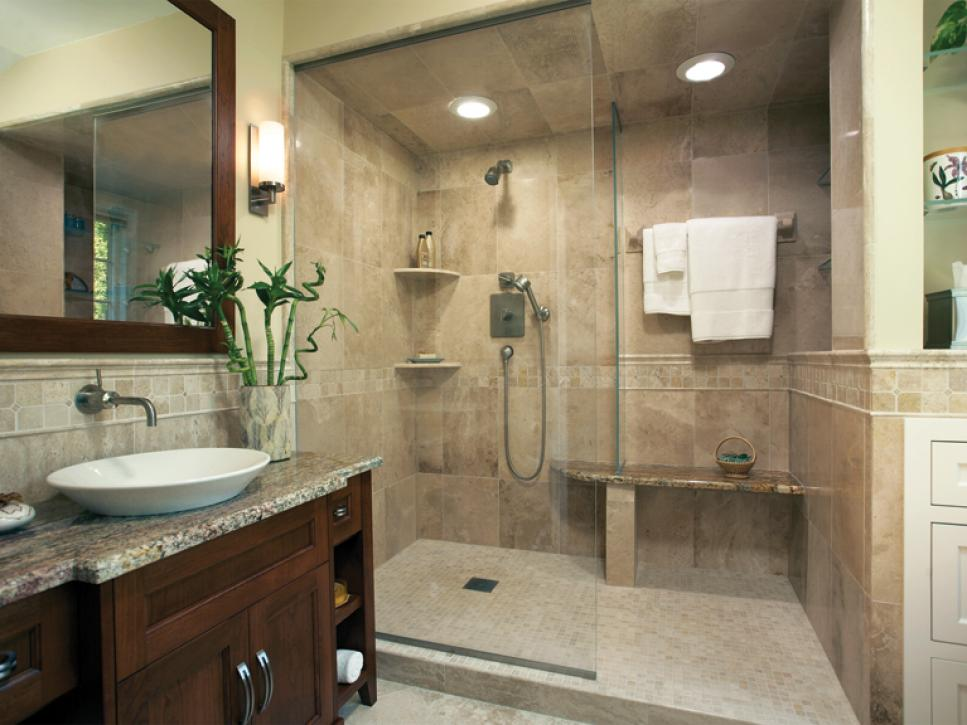 bathrooms designs sophisticated bathroom designs | hgtv DVHQYSA