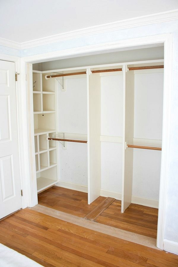 bedroom closet good way to create useable storage space in the end alcove of a SAYSHRL