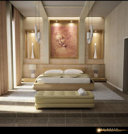 bedroom interior design bedroom-26 how to decorate a bedroom (50 design ideas) IIFRCWU