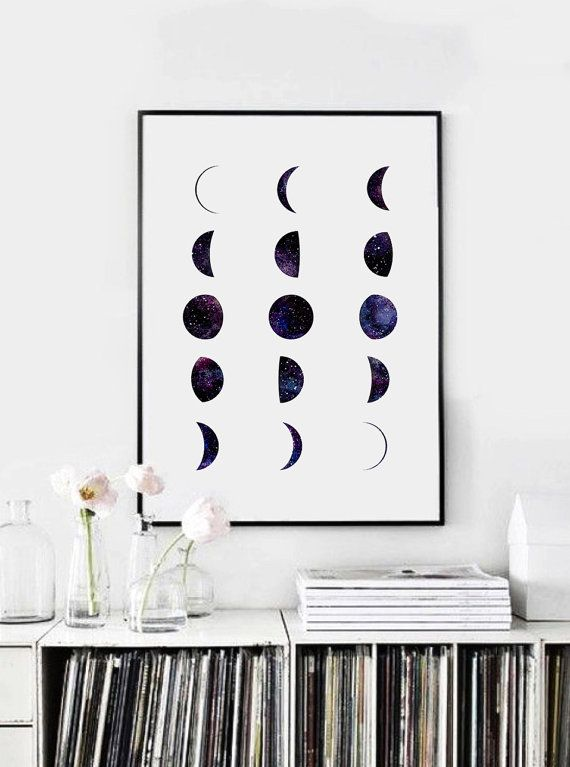 Decorate bedroom with wall art
