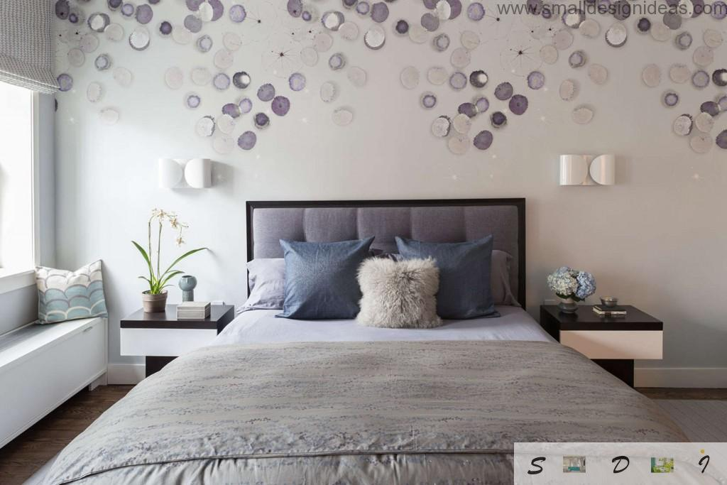 Bedroom wall decoration bedroom wall decoration ideas. nice white ambience of the modern bedroom  decorated ZQCQSPT