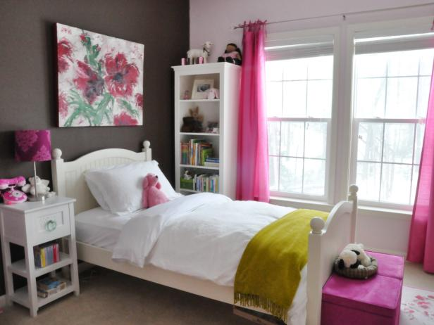 bedrooms for girls kids bedroom ideas | hgtv WZVGFJX