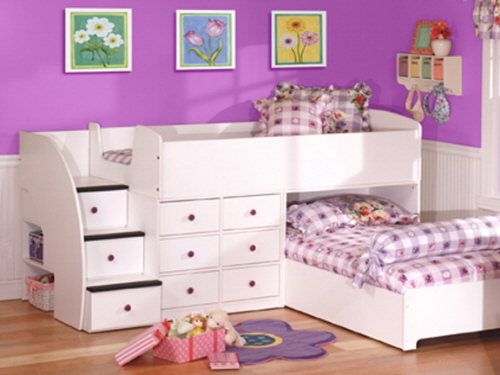 beds for kids childrenu0027s bunk beds safety rules: girls bunk bed furniture ideas ~  nidahspa.com CEXNXYX