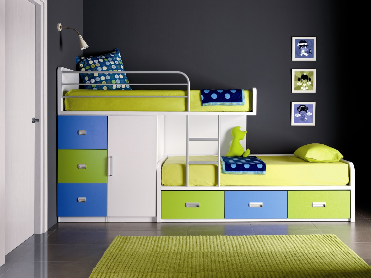 beds for kids fancy-space-saving-bunk-bed-design-inspiration-with- WRAGJPO