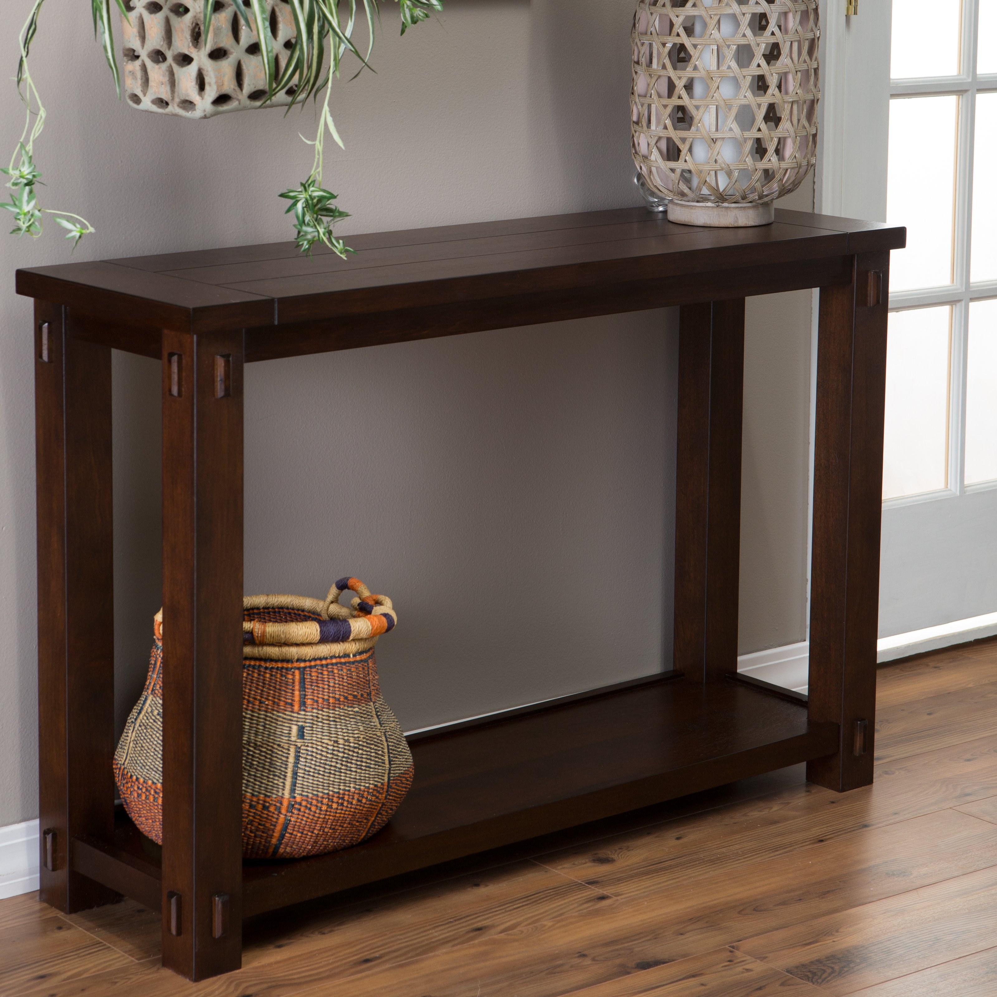 Get an attractive look at your house with console tables