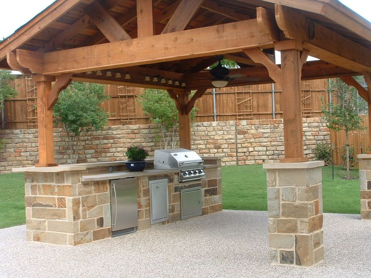 Outdoor kitchen plans: an exquisite dining experience
