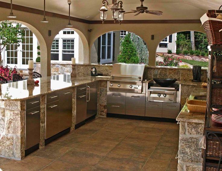 best 25+ outdoor kitchens ideas on pinterest UXYXUZC