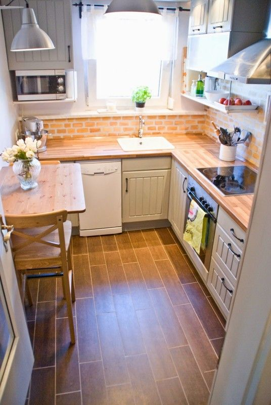 Manage the big materials in the small kitchens